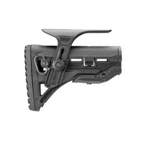 FAB Defense M4-AR15 Shock-Absorbing Buttstock with Cheek Rest GL-SHOCK CP