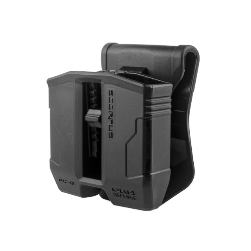 FAB Defense Double Mag Pouch for Glock 9mm- 40 Magazines PG-9