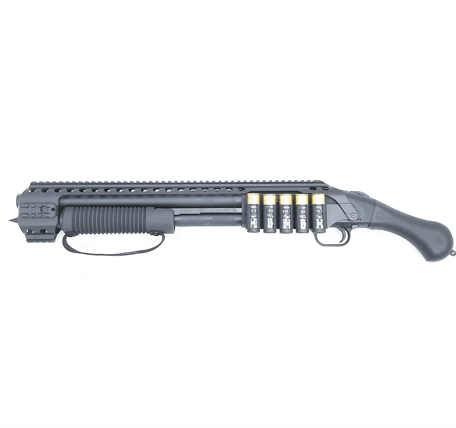 ATI Black Aces Tactical Shockwave Quad Rail With Side